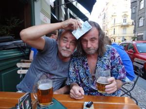 S Tomášem Mazalem U Parlamentu