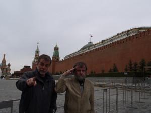 """S Tomášem v Moskvě. """"I ty""""?"""