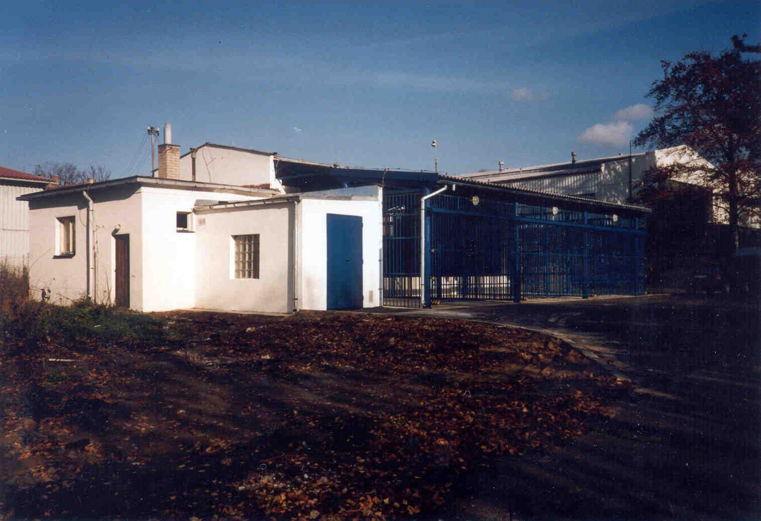 Rekonstrukce skladu plynu Technoplyn Linde v Liberci